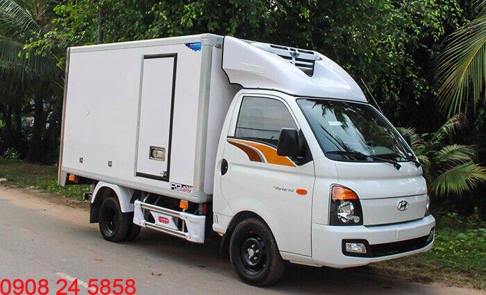 Hyundai PorterH150 đông lạnh