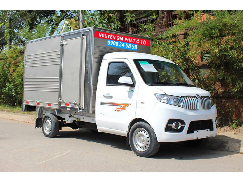 xe tải dongben t30 990kg thùng kín