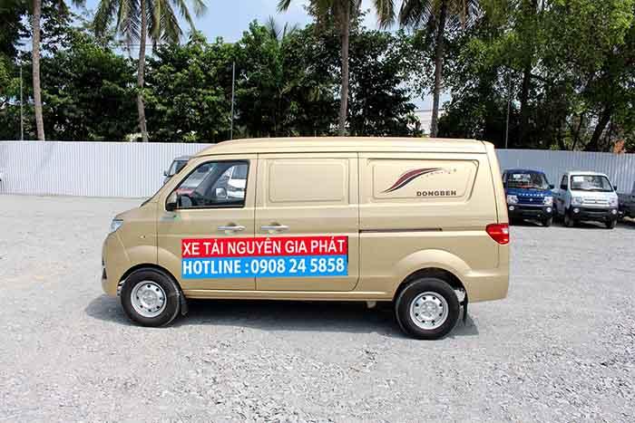 xe dongben van X30 2 chỗ hoặc 5 chỗ