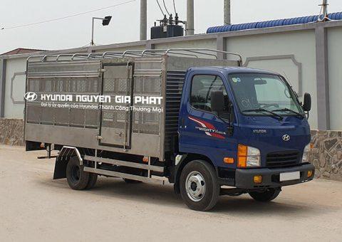 Xe tải chở gia cầm 2t49 thùng dài 4m3
