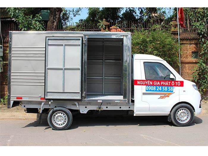 Xe tải dongben T30 thùng kín