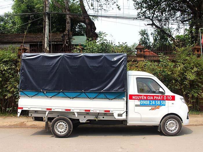 Xe tải dongben T30 thùng mui bạt